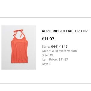 American Eagle Outfitters Tops - Halter Tank Top